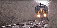 """Особлива"" залізна дорога у США. 👀 Її назва - Napoleon, Defiance & Western Railroad."