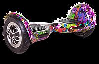 """Позитивные яркие гироскутеры Smart Balance Wheel 10"""" Hip-Hop Kids, Galaxy и Молния Цветная. Дешево.Код: КГ2060"""