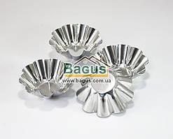 Набор (4 шт./наб.) металлических формочек для выпечки кексов Empire (EM-8666)
