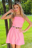 Платье женское летнее корсет Р47