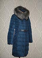 Пальто женское зимнее Lusskiri 8161 индиго