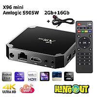 X96 Mini TV Box Amlogic S905W, 2Gb+16Gb