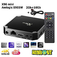 X96 Mini TV Box Amlogic S905W, 2Gb+16Gb