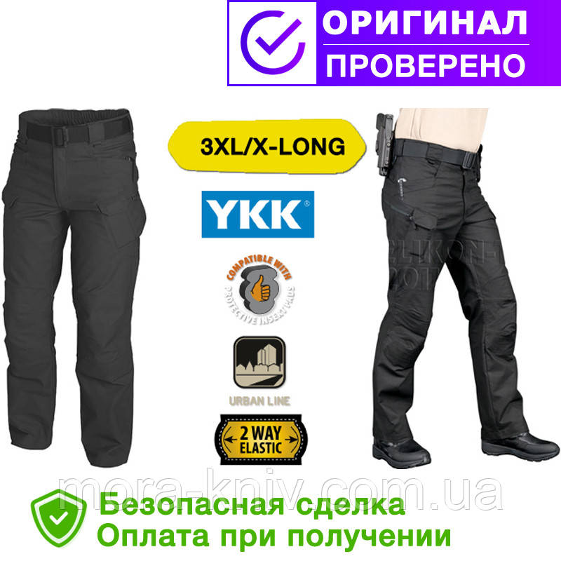 Брюки (штаны) Helikon-Tex Urban Tactical Pants Black 3XL/x-long (SP-UTL-PC-01)