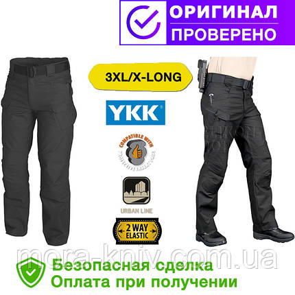 Брюки (штаны) Helikon-Tex Urban Tactical Pants Black 3XL/x-long (SP-UTL-PC-01), фото 2