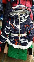 Теплая зимняя детская куртка (овчина)