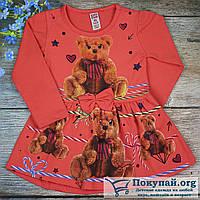 Платье с длинный рукавом для девочки Размеры: 1-2-3-4-5 лет (5663-1)