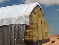 Тент брезент накрытие для сена соломы ПВХ