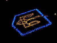"""Светодиодная линейная гирлянда """"String Deluxe  200 LED"""" string deluxe, Коробка, синий, черный"""