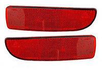 Катафот (светоотражатель)  заднего бампера  ВАЗ-2170, 2172