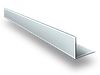 Уголок алюминиевый 30х30х2 анодированный