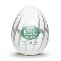 Интимные игрушки Мастурбатор Tenga Egg Thunder (Молния)