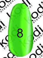 """Гель-лак Kodi Professional """"Crystal"""" витражный № C08, 8 мл"""