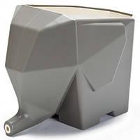 Сушилка подставка для столовых приборов Слон Серый
