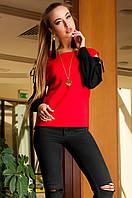 Модная блуза Венециано Jadone Fashion 42-48 размеры