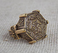 Перстень-печать с изображением льва. Копии археологических находок