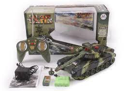 Радіокерована модель танка