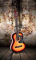 Классическая гитара 3/4 + чехол, тюнер