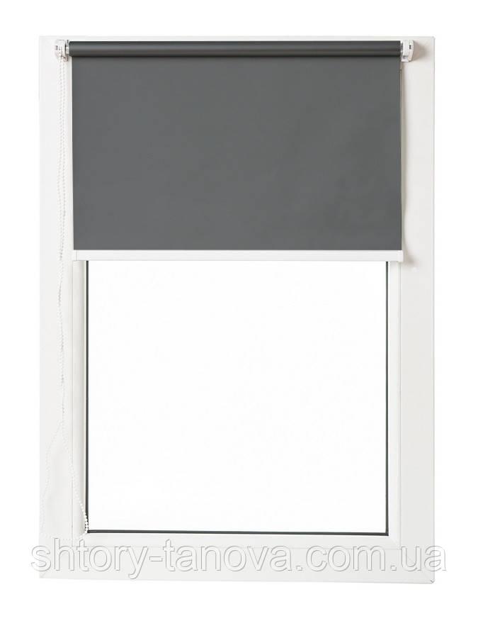 Термо ролети Арджент (темно-сірий)