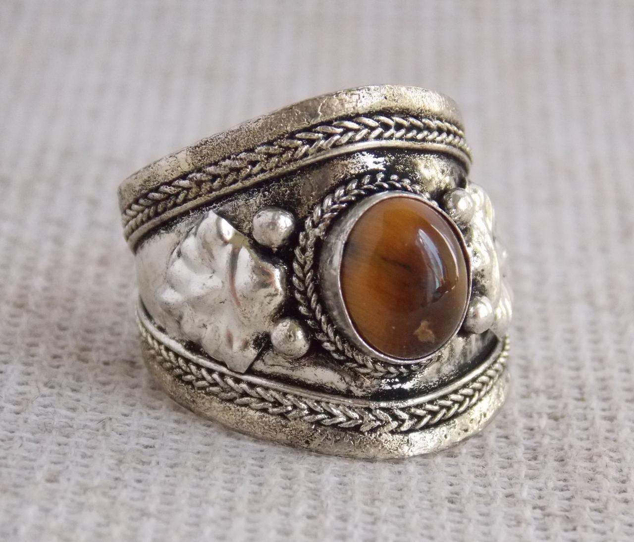 Кольцо с тигровым глазом № 3. Кольца с камнями - Магазин Витребеньки - Все, чего пожелает душа :) в Львове