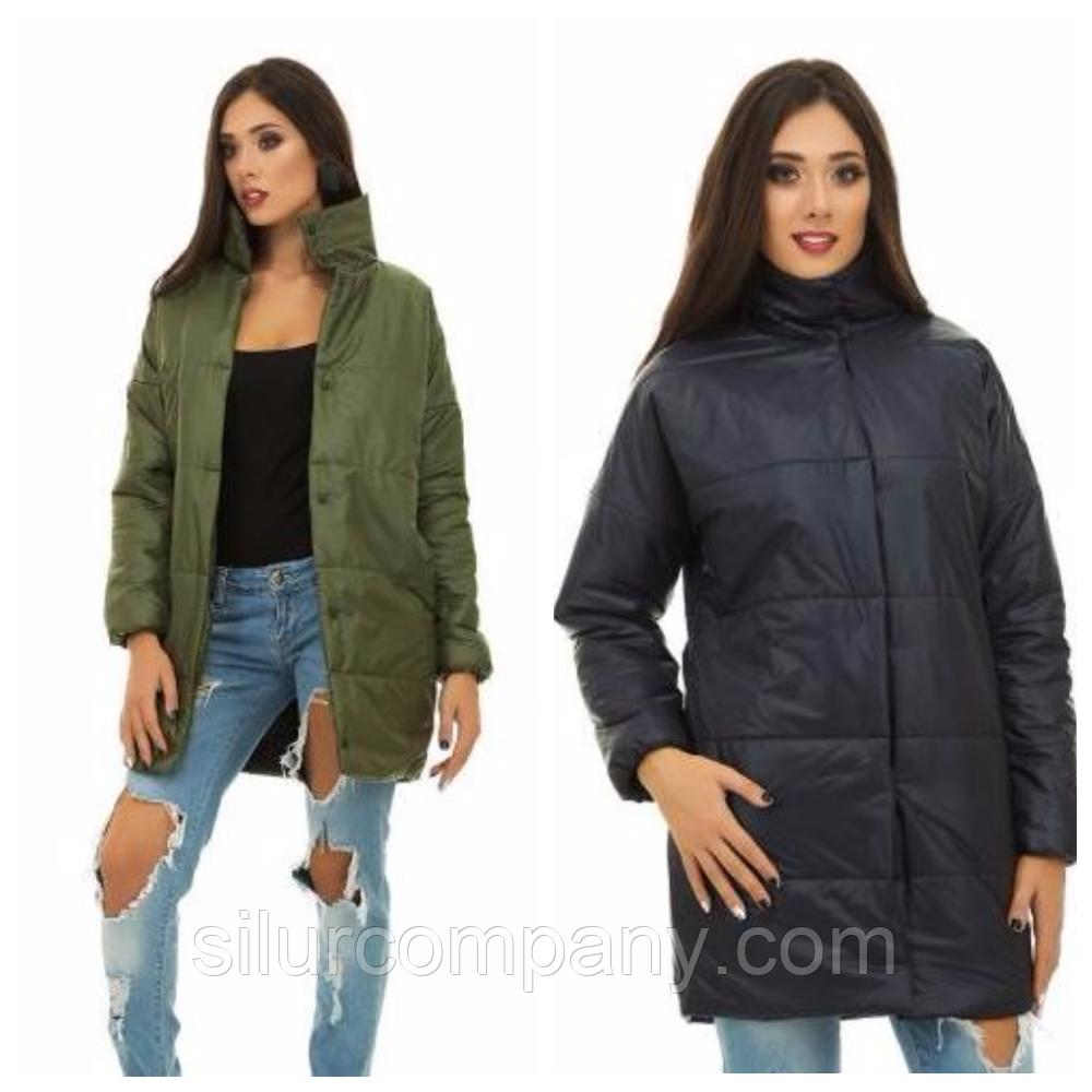 13e0028ade3 Удлиненная демисезонная куртка женская  продажа