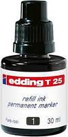 Чернило для заправки Permanent e-T25 чорный 1412T25/01
