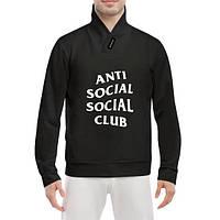 GlobusPioner Толстовка Anti social club 59538