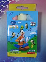Крейда кольорова Mickey Mouse 3кольори гр MM11-072WK