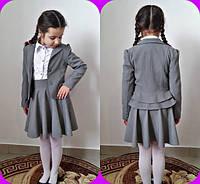 Пиджак подросток школьный в расцветках 11088