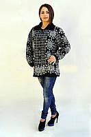 Зимняя женская кофта больших размеров