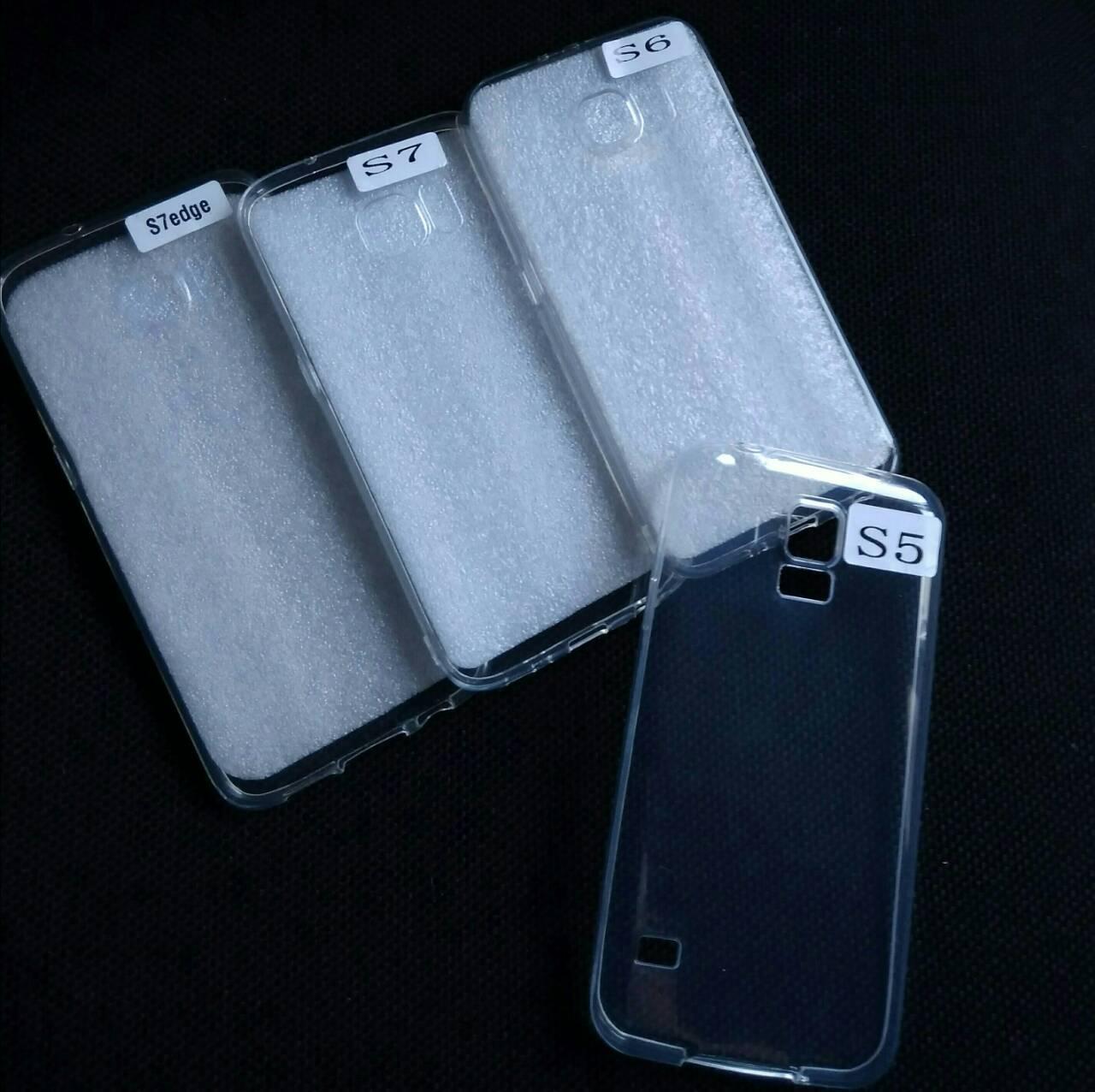 Силиконовый прозрачный чехол на Samsung Galaxy S5 , оптом