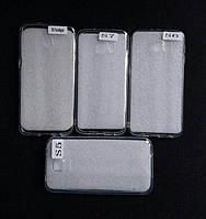Силиконовый прозрачный чехол на Samsung Galaxy S5 S6 S7 Edge , оптом