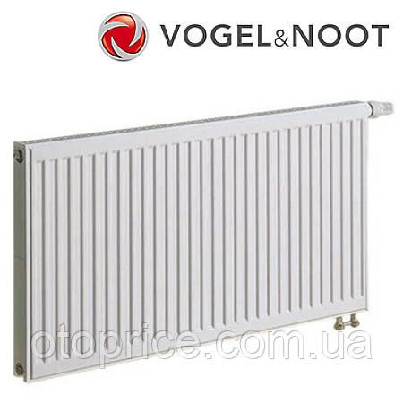 Стальной панельный радиатор Vogel&Noot тип 11 высота 300, низ.