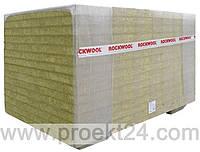 Теплоизоляционные плиты из каменной ваты MONROCK MAX E 100мм