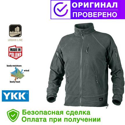 Кофта Helikon Alpha Tactical Grid Fleece Jacket Shadow Grey regular (BL-ALT-FG-35), фото 2