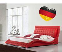 Кожаные кровати Соната мебель Германия