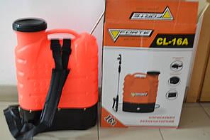 Обприскувач акумуляторний Forte CL-16A 16L
