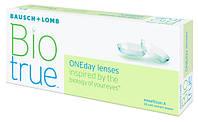 Линзы контактные однодневные Biotrue Oneday, (30шт+5шт в подарок)