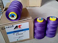 Нитки армированные A&E  Perma Core №120 5000м col W45928 светло-фиолетовый акция