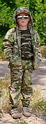 Костюм камуфляжный детский ARMY KIDS Лесоход 116-122 мультикам 15-235М