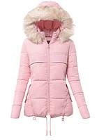 """Женская зимняя куртка со съёмным капюшоном """"Мила"""""""