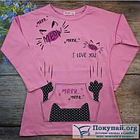 Туника для девочек Весна- Осень Размеры: 110-116-122-128 см (5684-3)