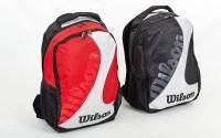 Рюкзак спортивный WILS 6133 BACKPACK (PL, р-р 48х35х21см, красный, черный)