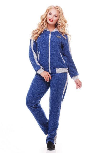 Модный спортивный костюм электрик бомбер