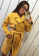 Пальто женское кашемировое в расцветках 12045