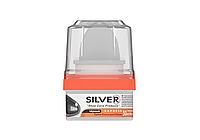Silver крем блеск для обуви банка 50мл Черный