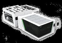 Станок для лазерной резки с автоматической загрузкой и защитным кожухом серии P-A