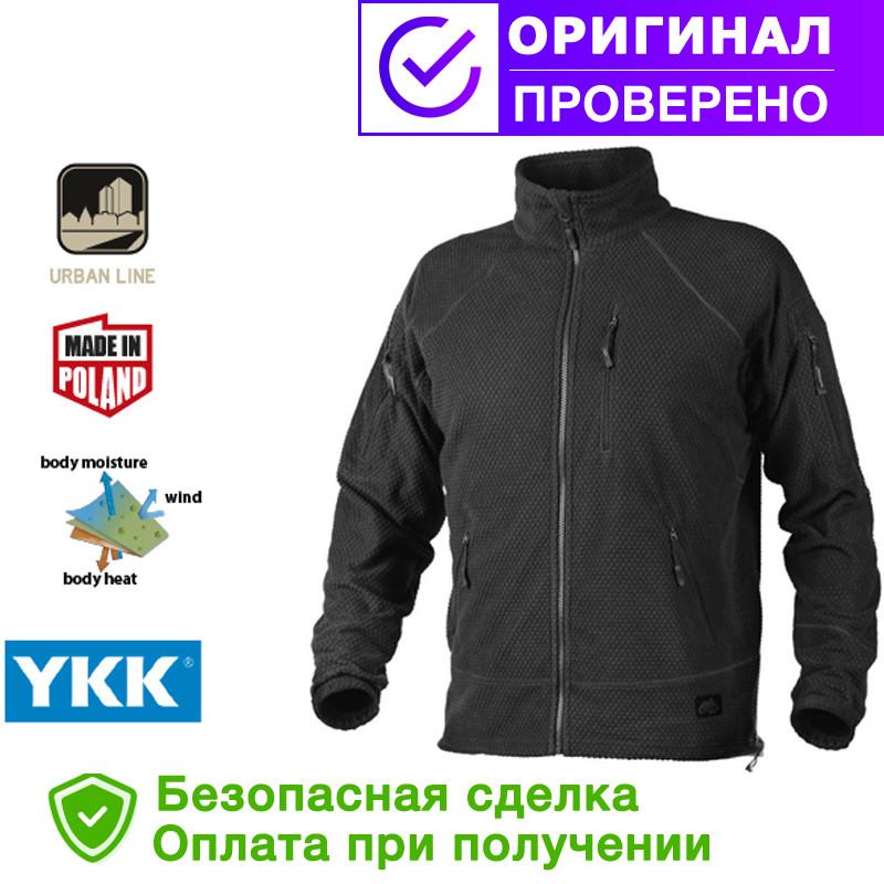Кофта Helikon Alpha Tactical Grid Fleece Jacket Black S, М, L, XL, XXL (BL-ALT-FG-01)