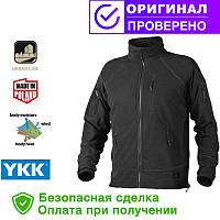 Кофта Helikon Alpha Tactical Grid Fleece Jacket Black L, XL, XXL (BL-ALT-FG-01)