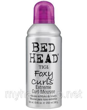 Мусс для вьющихся волос Tigi Bed Head Foxy Curls Extreme Curl Mousse 250 мл